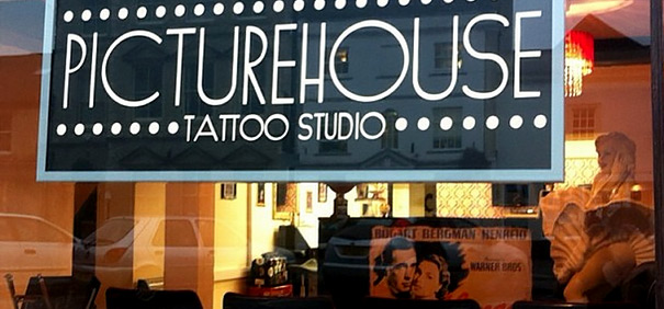 The Picture House Tatoo Studio from outside